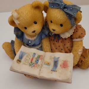 "Cherished Teddies Roxie & Shelly ""What a Story we"